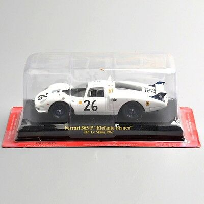 Diecast Car Racing 1/43 Scale Ferrari 365 P ''Elefante Bianco'' Vehicles Model