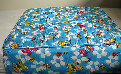 Water Resistant/Proof Sheet Bed Protector Tuck Flap Toddlers Kids Children NEW