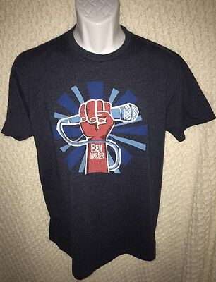Ben Harper t-shirt size adult large by Next Level Apparel -repaired