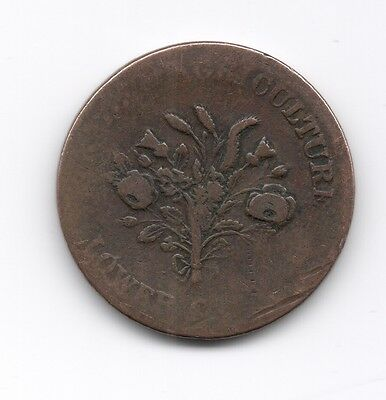 1 - Bank of Montreal  Un Sous Trade & Agriculture Lower Canada Token