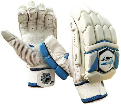 NEW CRICKET BATTING GLOVES JET CRICKET MENS Limited Edition,Pittard Leather PALM