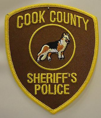 "Cook County "" Sheriff's Police With K-9 """
