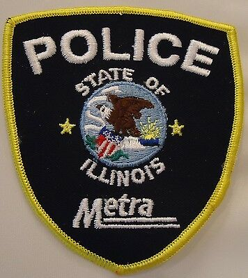 "State Of Illinois ""metra Police"""