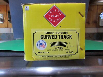 BRAND NEW ,  Aristocraft Brass Train Tracks NEW ADDITIONS