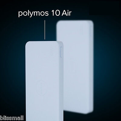 10000mAh External Battery Pack Dual USB Mobile Power Bank Portable Phone Charger