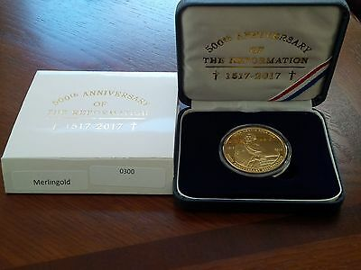 500th Anniversary of the Reformation Commemorative Medallion Coin