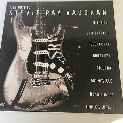 A TRIBUTE TO STEVI RAY VAUGHAN Laser Video Disc  USA NTSC