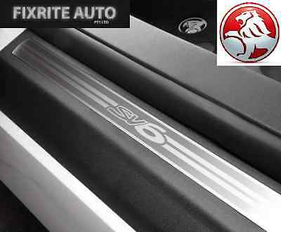 VE VF SV6 Sedan Wagon Sill Panel Scuff Plate Kit Front & Rear NEW Ute