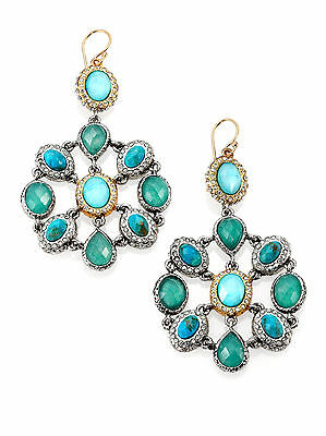 New Alexis Bittar Crystal Encrusted Mosaic 'Elements Cholulian' Earrings $295