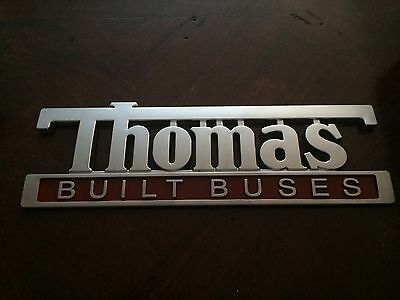 Thomas Built Buses SPECIAL emblem, High Point NC, vintage bus,L@@K