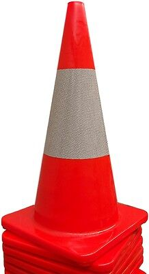 Traffic Cone 700 mm, 3.2 kg, with reflective tape