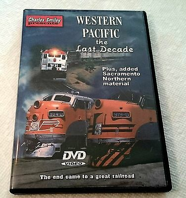 Charles Smiley Catenary Video Western Pacific the Last Decade DVD WP