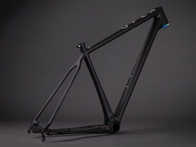 OPEN CYCLES NEW 'OPEN 1.0 HARDTAIL 29er CARBON MOUNTAIN BIKE FRAME: SIZE SMALL