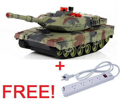 HuanQi HQ 550 Radio Remote RC Infrared IR Battle Tank Leopard II Kit +Gift!