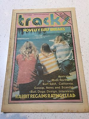 Tracks Surfing Magazine Very Rare October 1979 Detours Mag Inside