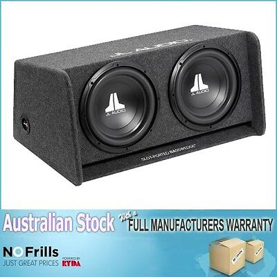 "JL Audio W0v2 2x12"" Enclosure with Subwoofer with AUST JL AUDIO WARRANTY"