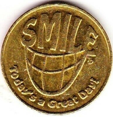 Smile Today Is a Great Day Token  #3  .900