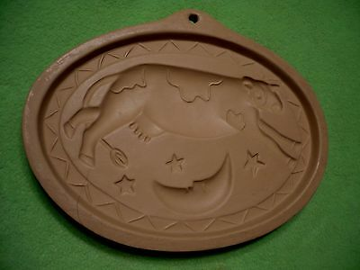 COW JUMPS OVER THE MOON mold kitchen wall decoration. Brown Bag Cookie Art Co.