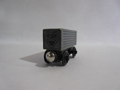 Thomas & Friends Wooden Gray Painted Face Troublesome Truck  -Rare Retired