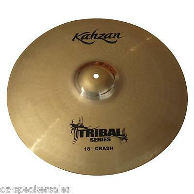 "Kahzan ""Tribal"" Series 18"" Crash Cymbal"