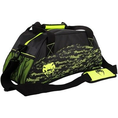 Venum Sport Bag 'Camoline' Black/Neo Yellow - Small