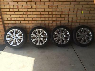 Nissan pulsar 2015 wheels and tyres like new no marks