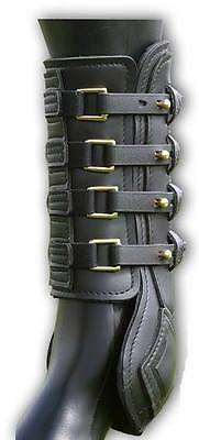 Sabre eventing boots, full size, Set of 4 boots, Havana brown