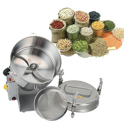 UK!Mill Powder Machine Smashing 600G Mill Herb Grinder Coffee Beans Grain Cereal