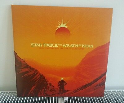 Mondo Star Trek Wrath Of Khan Double Coloured Vinyl Soundtrack