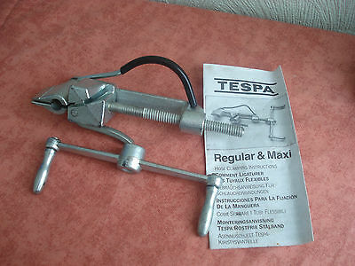 TESPA Hose Clamping Tool - Stainless Steel
