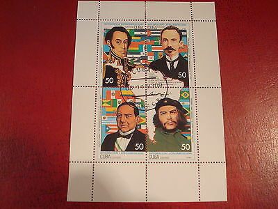 Central America - 1993 - Minisheet - Unmounted Used - Ex. Condition