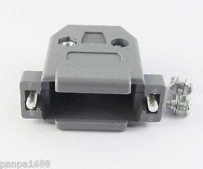 5 sets DB15 Plastic Hood Cover for D-Sub 15 Pin 2 Rows