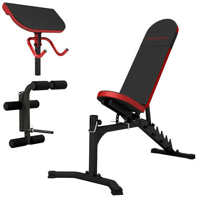Banc + Equipement Mh-Z149 Marbo-Sport Poste Multi Gym Home Musculation Station