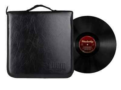 BUBM Portable Storage Pouch Case Phonorecord Platter Waxing Record 8+2 Disc Bag