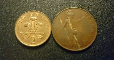 Lot 51. Two Coins England