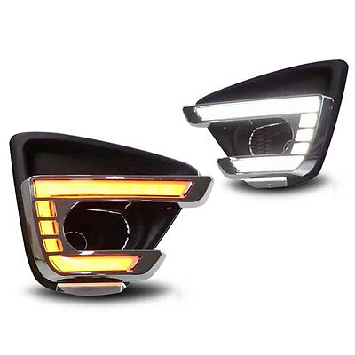 Replacement Daytime Running Lights LED Assembly Fog Lamp Cover for Mazda CX-5