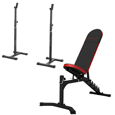 Banc + Equipement Mh-Z153 Marbo-Sport Poste Multi Gym Home Musculation Station