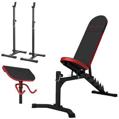 Banc + Equipement Mh-Z155 Marbo-Sport Poste Multi Gym Home Musculation Station