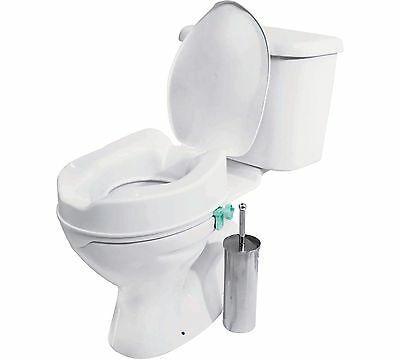 Raised Toilet Seat with Lid  865/0641