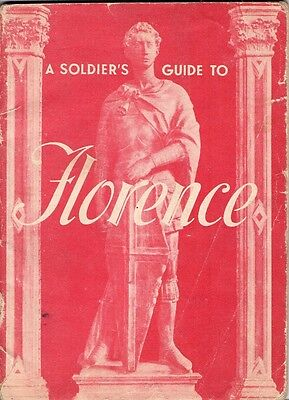 Original WW2 Soldier's Guide to Florence