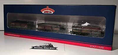 Bachmann - 33-079Z - SET OF CHINA CLAY WAGONS DEPARTMENTAL WEATHERED LTD ED NEW
