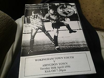 wokingham v abingdon 95.96 Youth game