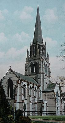 Clumber Church Post Card Posted Boothstown 1906