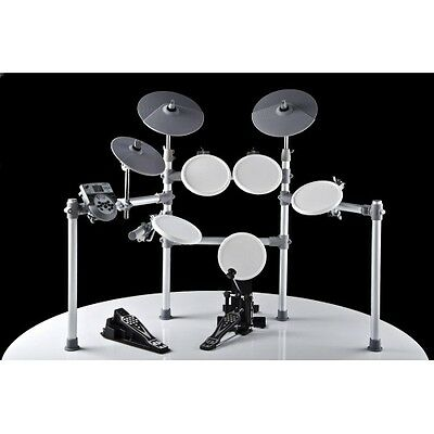 27286 Bateria Electronica Digital Color Blanco Dd-516 Xdrum