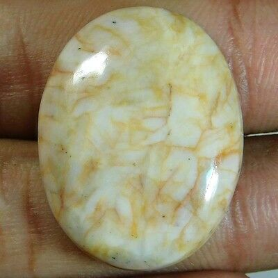 44.3cts 100% Natural Stunning Seraphinite Oval 29x22x7 Cabochon Gemstone
