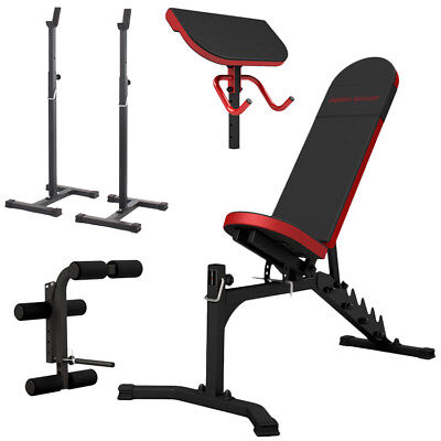 Banc + Equipement Mh-Z157 Marbo-Sport Poste Multi Gym Home Musculation Station