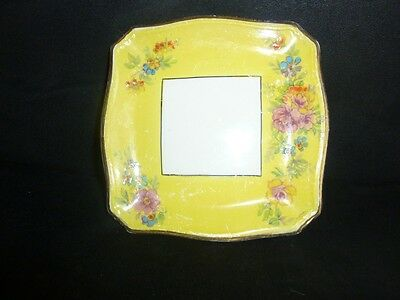 Royal Winton, Grimwades yellow plate GC