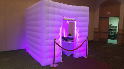 Inflatable Booth   Inflatable Photo Booth Business   LED Booth   White Booth