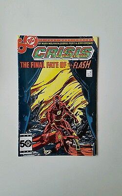 Crisis On Infinite Earths #8 - Death Of Flash (Modern Age 1985)  Very Good    C2