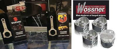KIT BIELLE + PISTONI WOSSNER RENAULT CLIO WILLIAMS RS 1.8 16v FORGED PISTON
